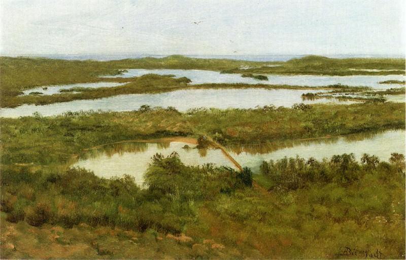 Дельта реки. Альберт Бирштадт