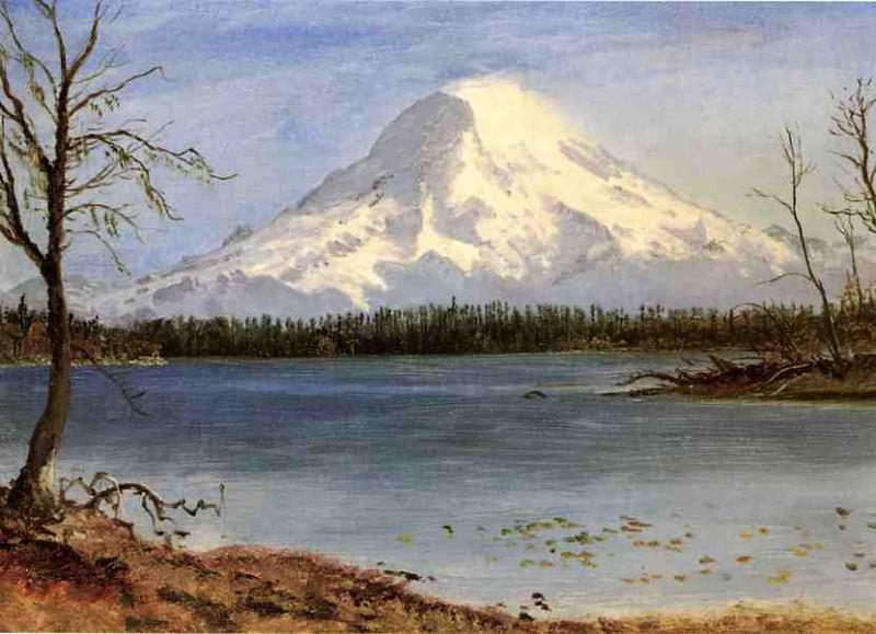 Озеро в Скалистых горах. Альберт Бирштадт