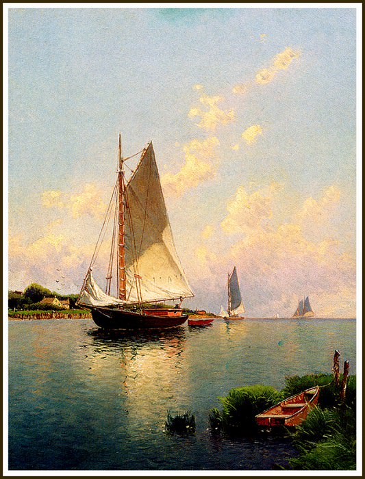 Blue Point- Long Island. Alfred Thompson Bricher