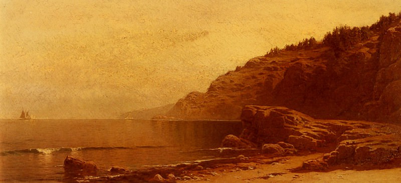 Coast Of Maine. Alfred Thompson Bricher