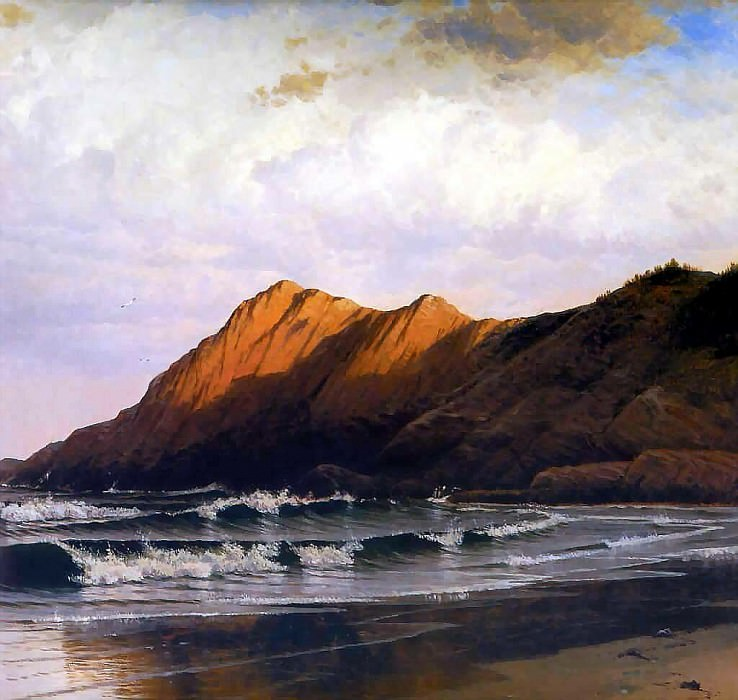 hudson rv sc csg027b time and tide 1873-alfred thompson bricher. Alfred Thompson Bricher