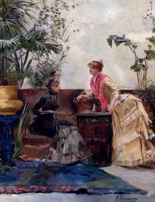 The Conversation. Francois Brunery