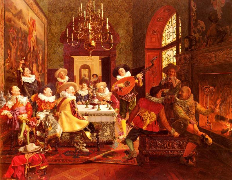 A Merry Melody. Francois Brunery