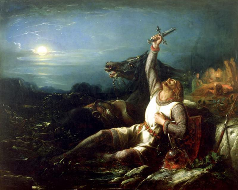 The Faithful Knight. Thomas Jones Barker