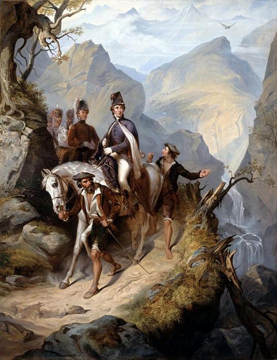 Wellington (1769-1852) at Sorauren, 27th July 1813. Thomas Jones Barker