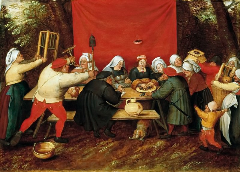 Wedding Gifts. Pieter Brueghel the Younger