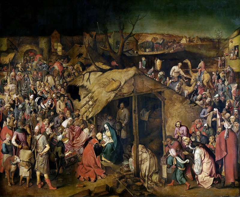 Adoration of the Magi. Pieter Brueghel the Younger