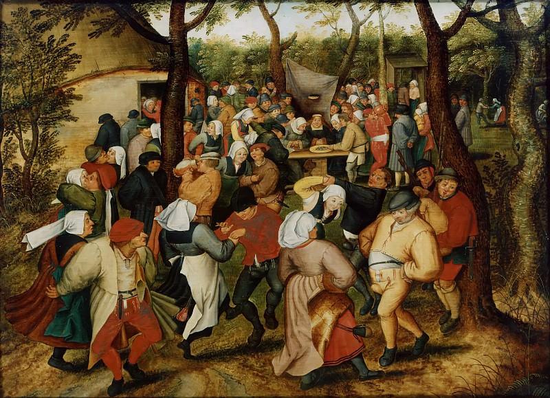 Wedding Dance. Pieter Brueghel the Younger