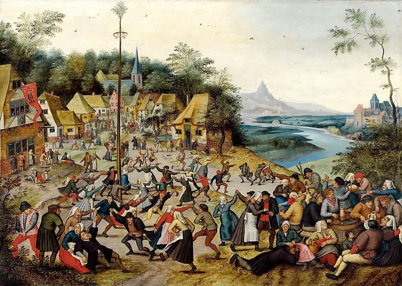 St. Georges Kermis. Pieter Brueghel the Younger