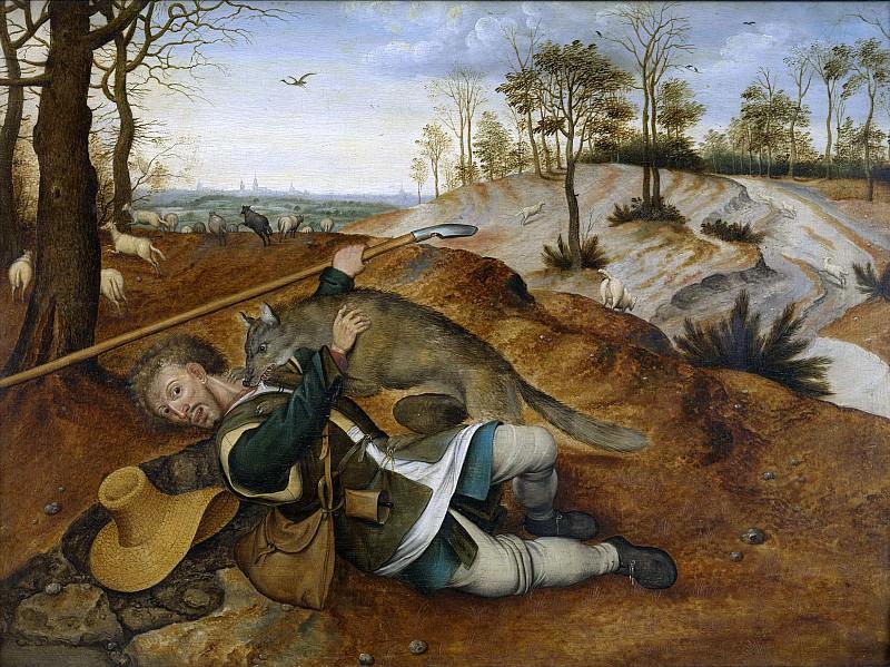 The Good Shepherd. Pieter Brueghel the Younger