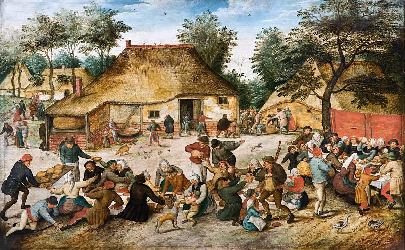 The Peasant Wedding. Pieter Brueghel the Younger