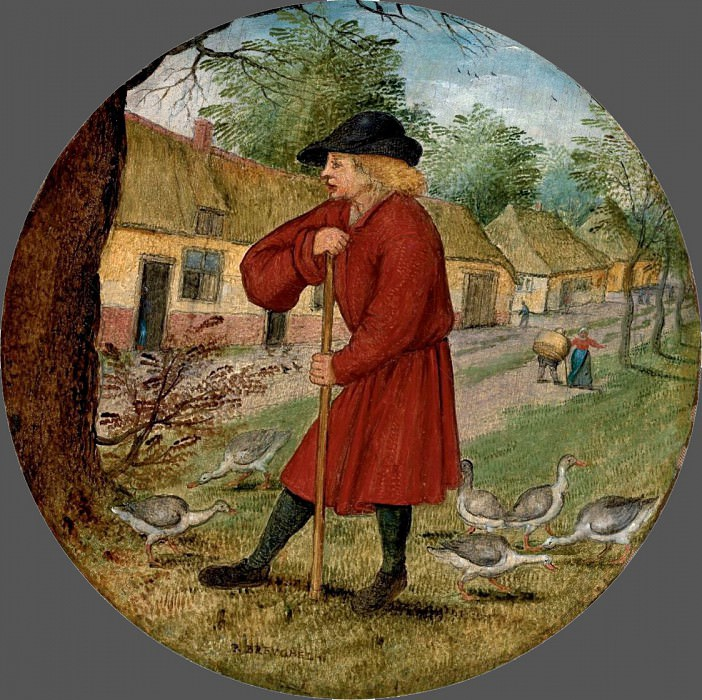Flamish Proverbs. Pieter Brueghel the Younger