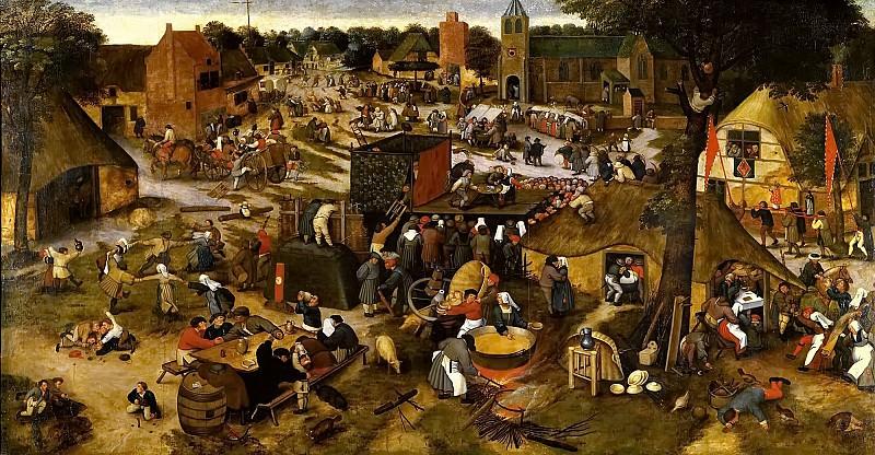 Kermesse. Pieter Brueghel the Younger