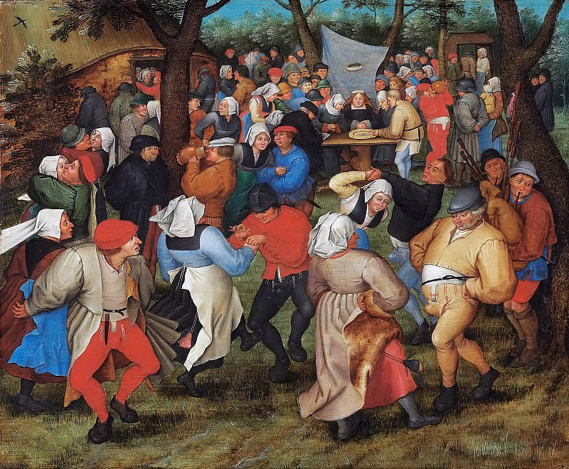 The Peasants Wedding. Pieter Brueghel the Younger