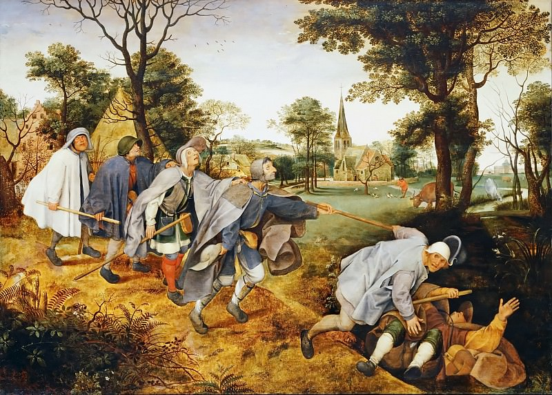 The Blind Leading the Blind. Pieter Brueghel the Younger