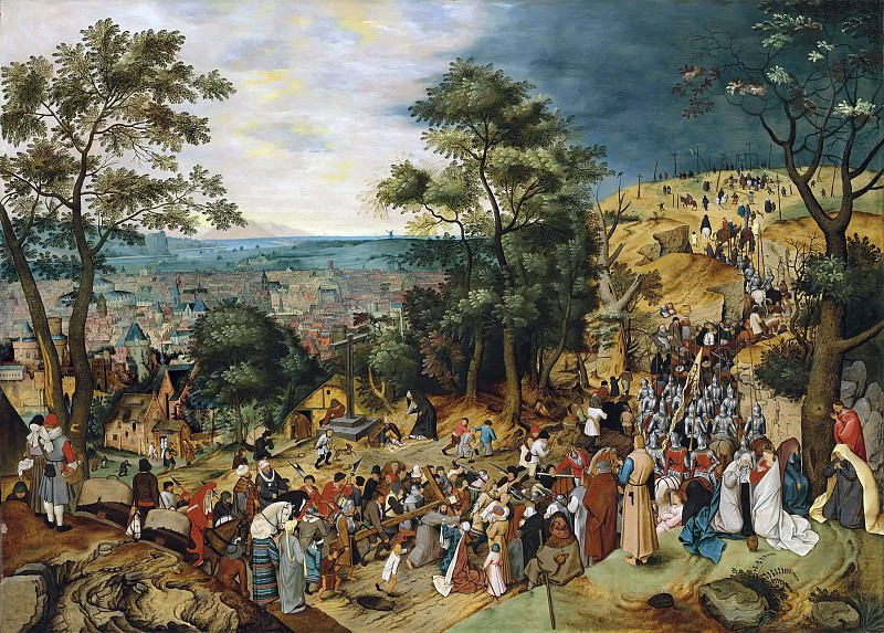 The Road to Calvary. Pieter Brueghel the Younger