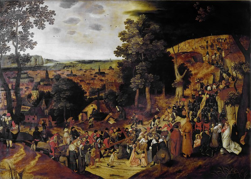Road to Calvary. Pieter Brueghel the Younger