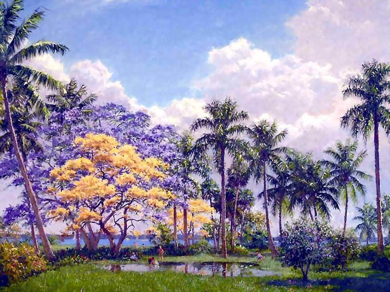 gentle breezes happy times. Albert Ernest Backus