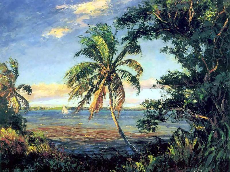 gentle breezes indian river. Albert Ernest Backus