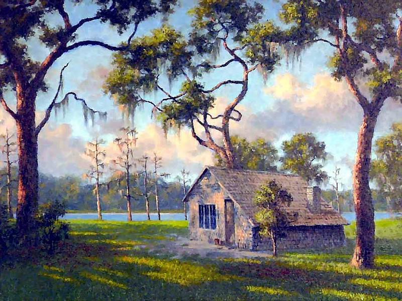 gentle breezes old cracker shack. Albert Ernest Backus