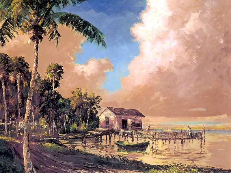 gentle breezes csg052 summerlins dock. Albert Ernest Backus