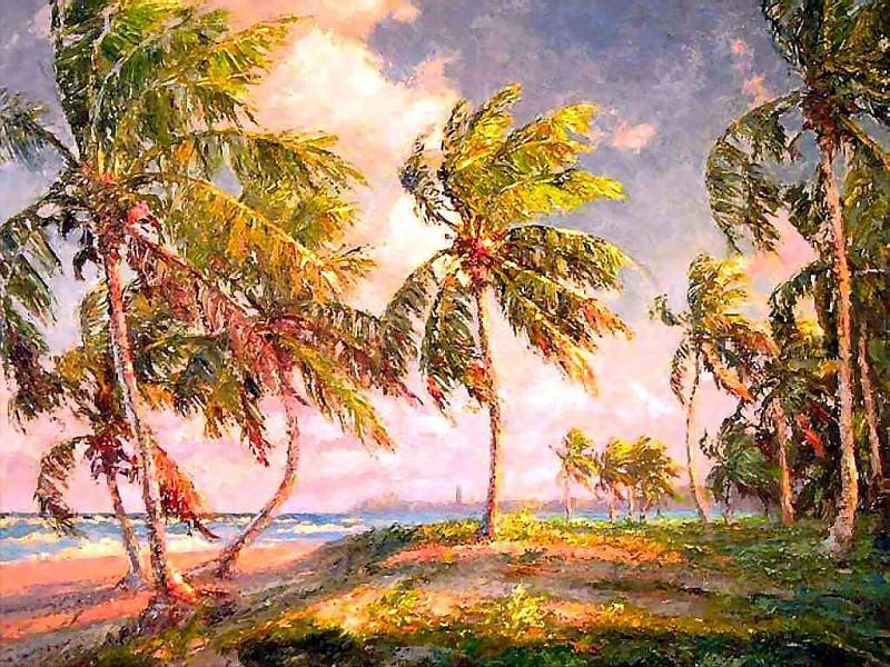 gentle breezes breezy afternoon. Albert Ernest Backus