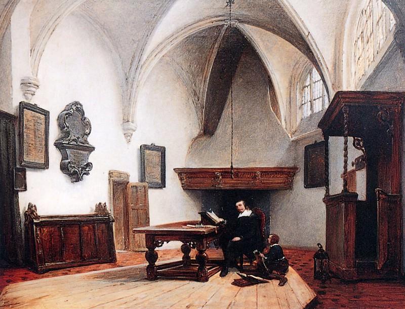 Consistorie Room. Johannes Bosboom