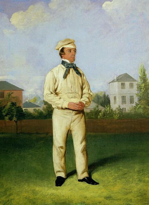 Portrait of John Wisden (1826-84). William Bromley III