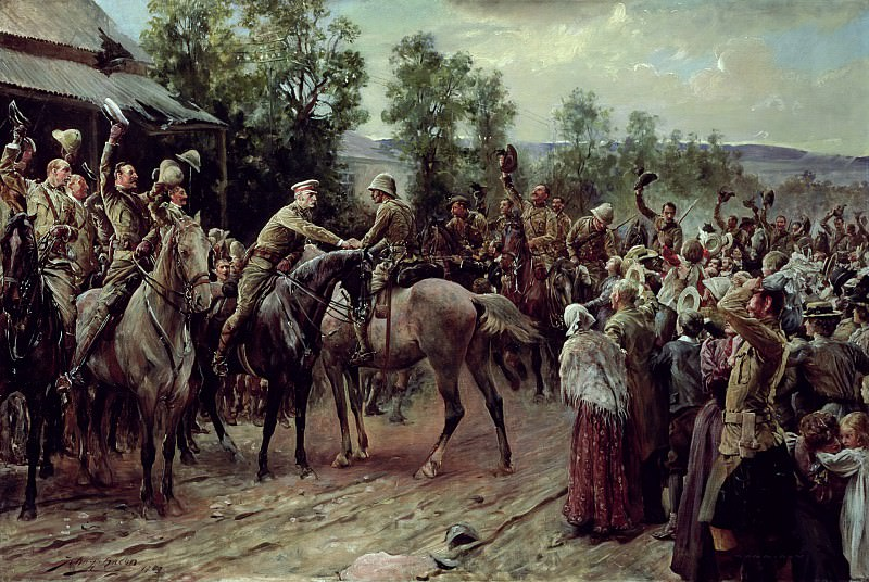 The Relief of Ladysmith on 27th February 1900. John Henry Frederick Bacon
