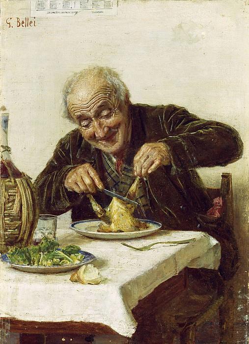 A Satisfying Meal. Gaetano Bellei