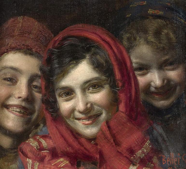 THREE CHILDREN. Gaetano Bellei
