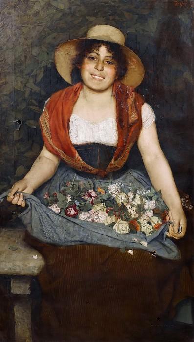 Цветочница из Тосканы. Гаэтано Беллеи
