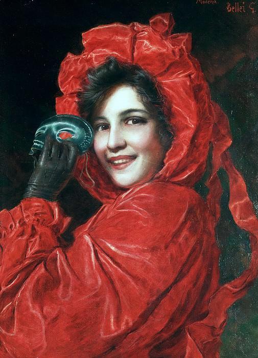 The masquerader. Gaetano Bellei