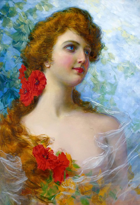 A YOUNG BEAUTY. Gaetano Bellei
