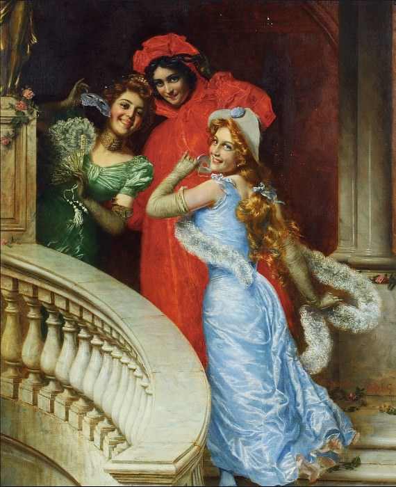 Off to the Masquerade. Gaetano Bellei