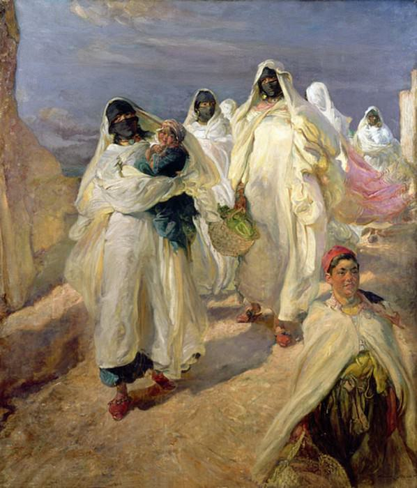 Tunisian Women. Edgar Bundy