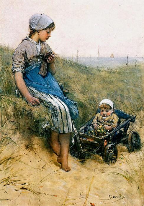 The cart. Bernardus Blommers