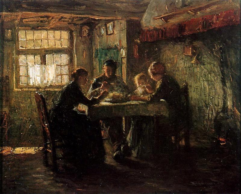 Peasants family. Bernardus Blommers