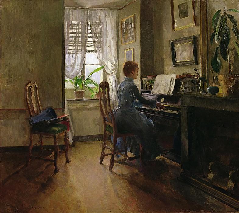Дома (1887). Гарриет Бакер