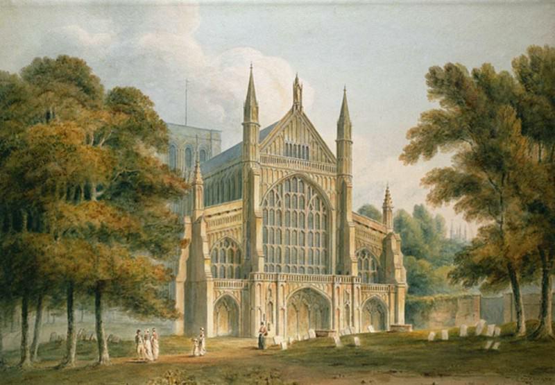Винчестерский собор: фасад с северо-запада. Джон Баклер