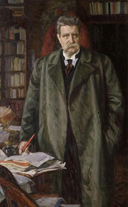 Хьялмар Брантинг (1860-1925). Свен Ричард Берг