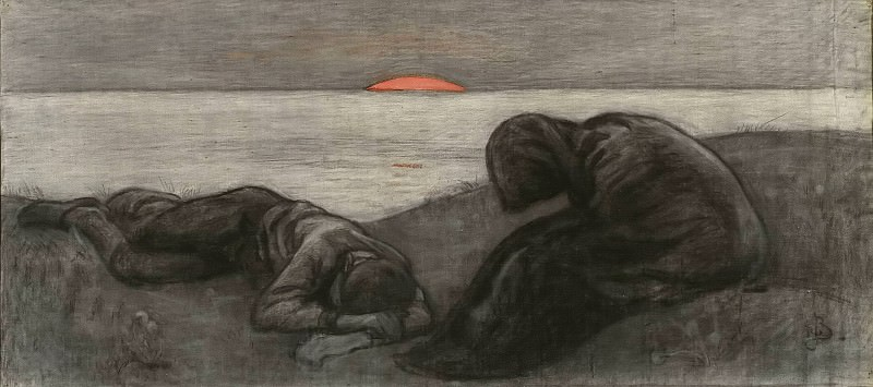 The Dying Day. Sven Richard Bergh