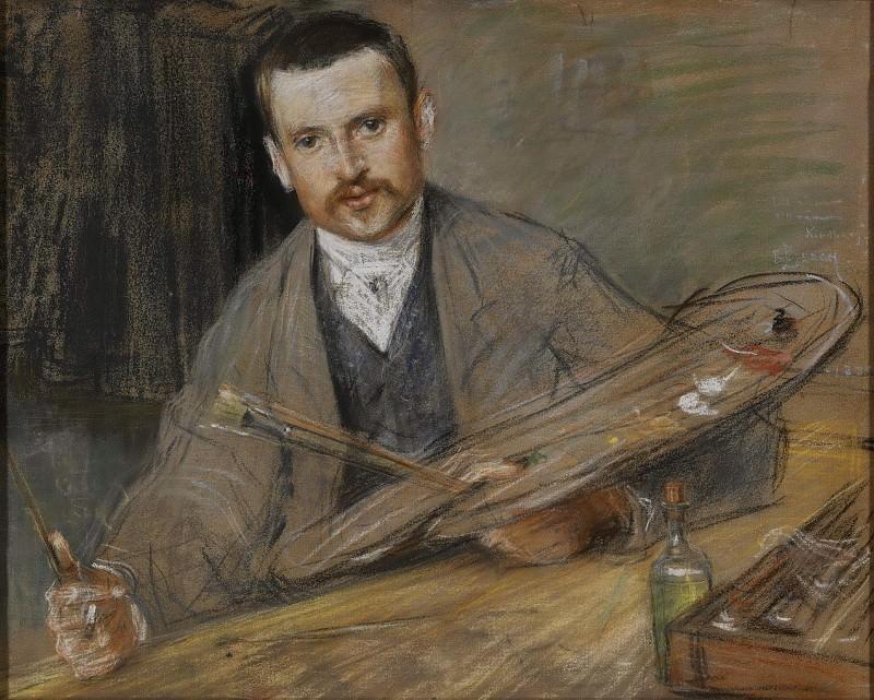 Йохан Киндборг (1861-1907), художник, был женат на Эми Эдман (гравёр по дереву). Свен Ричард Берг