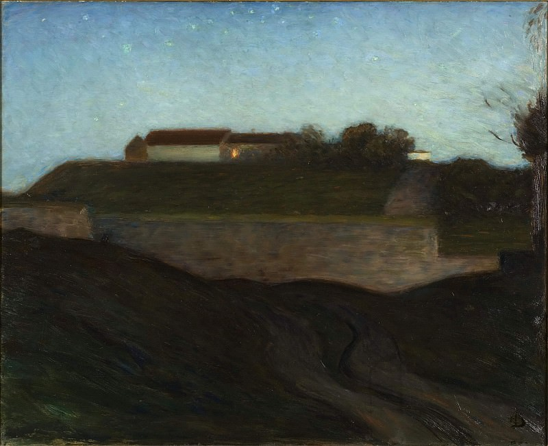 The Fortress of Varberg. Sven Richard Bergh