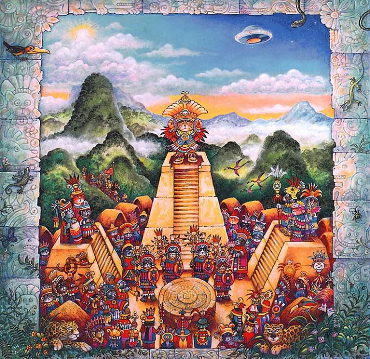 Aztec Cats. Bill Bell