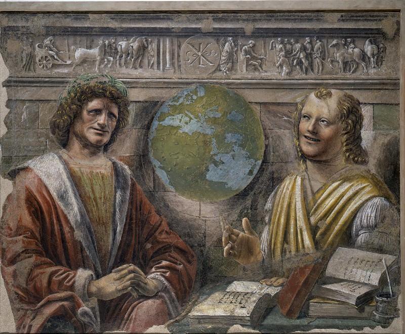 Heraclitus and Democritus. Donato Bramante