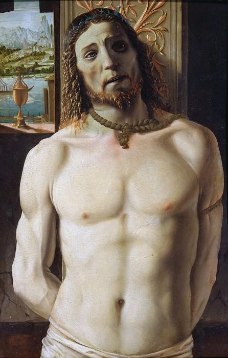 Christ at the Column. Donato Bramante