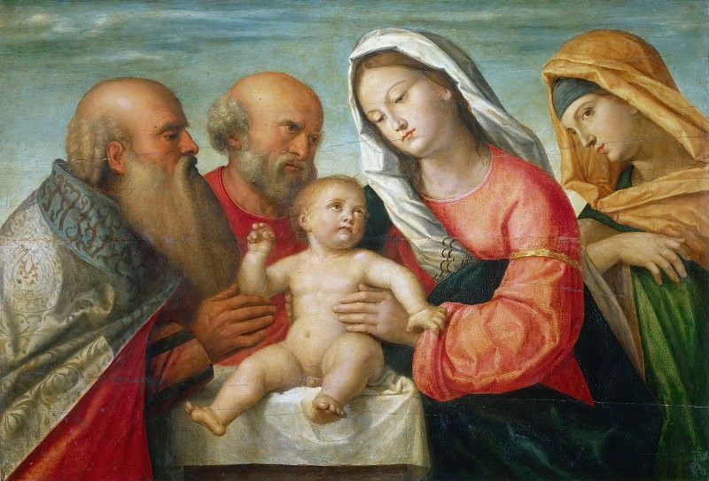 Обрезание Христа. Франческо Биссоло