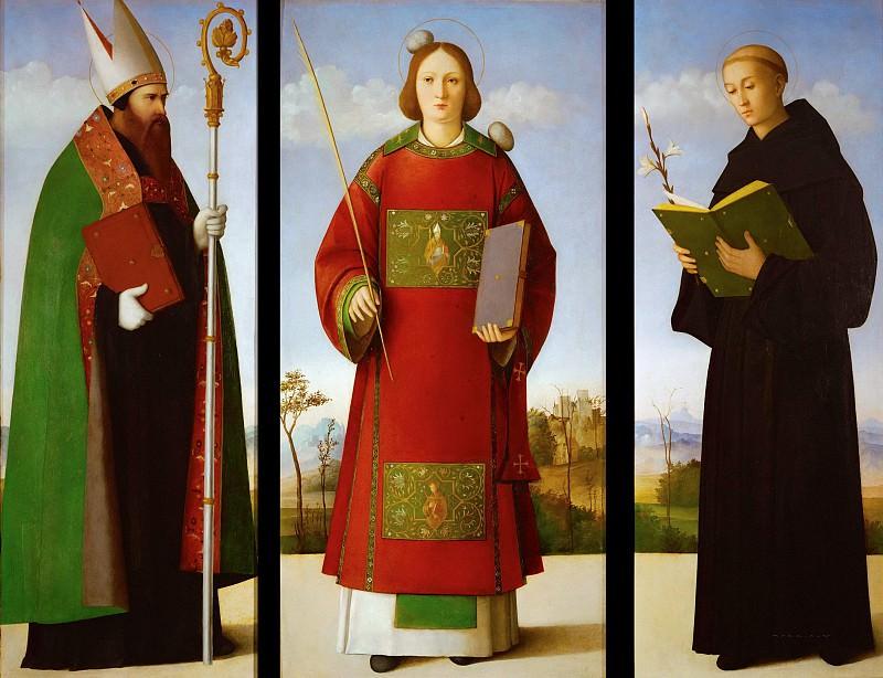 Святой Стефан со святыми Августином и Николаем Толентинским. Франческо Биссоло