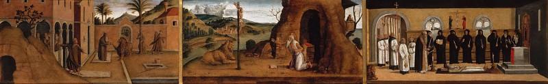 Сцены из жизни святого Иеронима. Лаццаро Бастиани